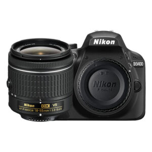 Nikon D3400 Digital SLR Camera 18-55 VR Lens Kit