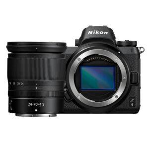 Nikon Z6 Mirrorless Camera 24-70mm f/4 Lens Kit