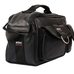 Nikon Leather Camera Shoulder Bag