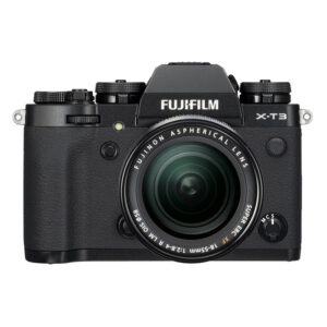 Fujifilm X-T3 Mirrorless Camera XF 18-55 Lens Kit {Black/Silver}