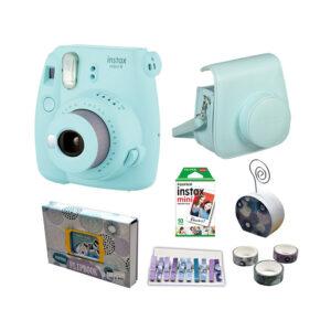 Fujifilm instax mini 9 Instant Film Camera Value Pack {Ice Blue}