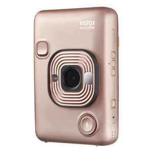 FUJIFILM INSTAX Mini LiPlay Hybrid Instant Camera {Blush Gold}